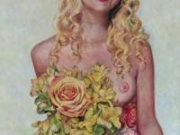 Portrait, 20x24, acrylic on panel.