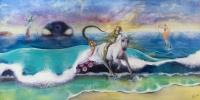 kyle's unicorn painting full